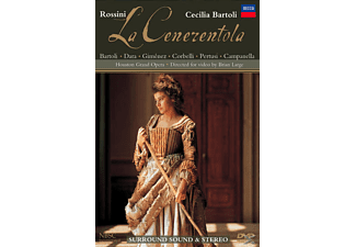 Cecilia Bartoli, Houston Symphony, Houston Grand Opera Chorus - La Cenerentola - (DVD)