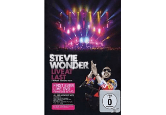 Stevie Wonder - Live At Last (Amaray) - (DVD)