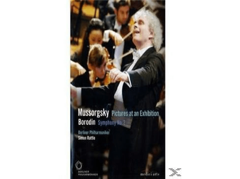 Simon Rattle - Mussorgsky -  Pictures At An Exhibition/Bordin - Symphony No [DVD]