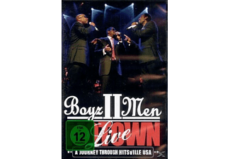 Boyz II Men - Motown Live: A Journey Through Hitsville Usa - (DVD)