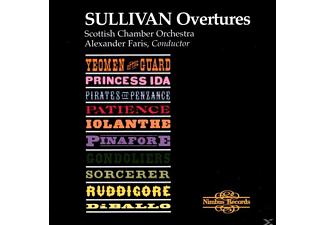Scottish Chamber Orchestra, Alexander Faris - Overtures - (CD)