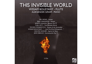Szram Boustany - This Invisible World - (CD)