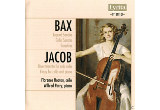 Florence Hooton - Bax/Jacob Works for Cello+Piano - (CD)
