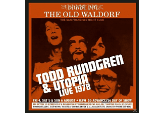 Todd / Utopia Rundgren - Live At Old Waldorf 1978 - (CD)