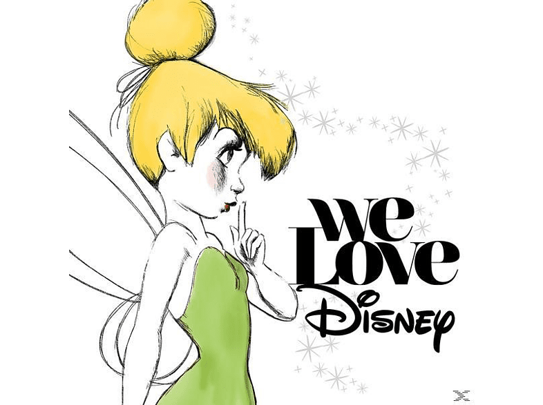 VARIOUS - We Love Disney [CD]