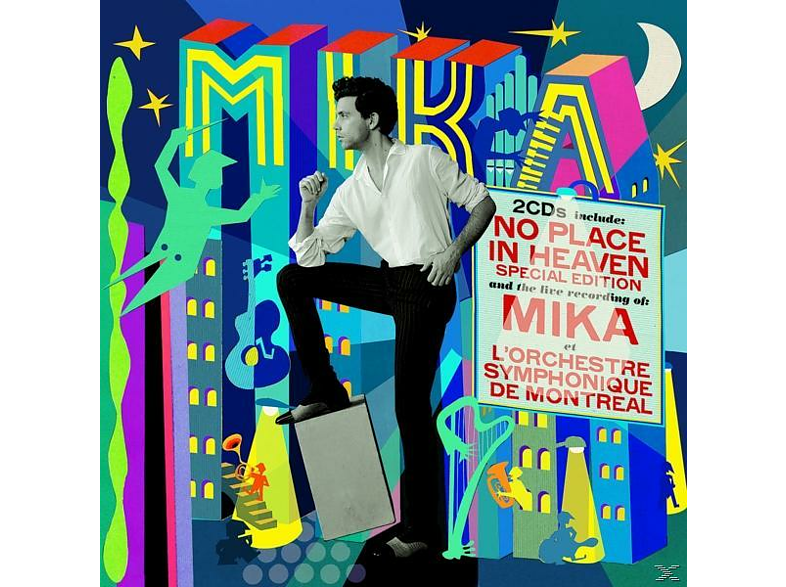 Mika - No Place In Heaven (Repack) [CD]