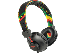 Auriculares - The House of Marley EM-JH011 Positive Vibration Rasta, Acolchados, 3.5mm