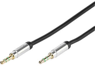 VIVANCO 31013 0.8m 3,5 mm Jack 3,5 mm Ses Kablosu