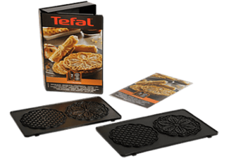 TEFAL XA8007 Snack Collection Bloemvormige Wafelplaten