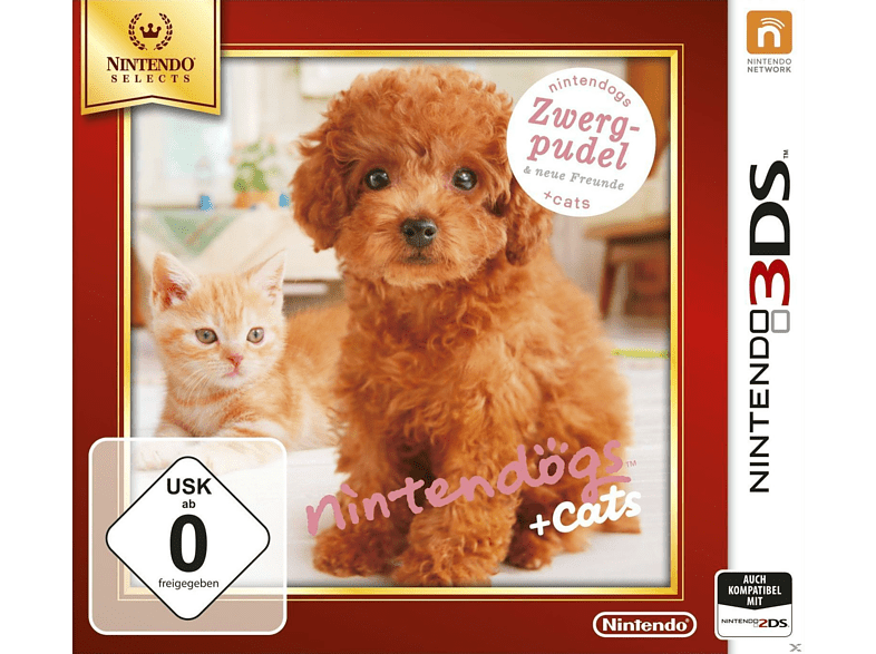 Nintendogs Toy Poodie + New Friends (Nintendo Selects) [Nintendo 3DS]