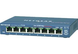 NETGEAR Switch ProSAFE FS108, 8-Port (FS108-300PES)