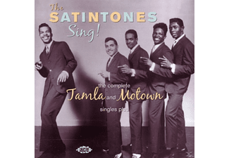 The Satintones - Sing!complete Tamla And Motown Singles...Plus [CD]
