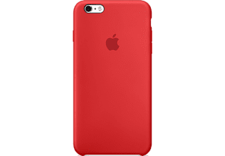 APPLE Coque en silicone iPhone 6s Rouge (MKY32ZM/A)