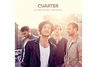 Quarter - Everything Changes - (CD)