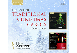 Harry Christophers, The Sixteen - The Complete Traditional Christmas Carols Collection - (CD)