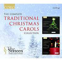 Harry Christophers, The Sixteen - The Complete Traditional Christmas Carols Collection [CD]