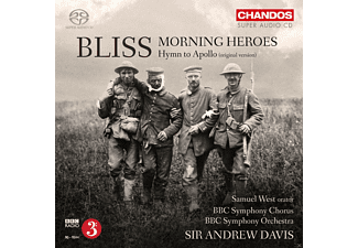 Bbc Symphony Chorus And Orchestra, Samuel West, Andrew Davis - Morning Heroes / Hymn To Apollo - (SACD Hybrid)