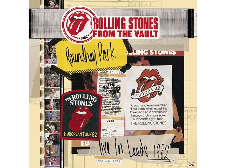 The Rolling Stones - From The Vault-Live In Leeds 1982 [DVD + CD]
