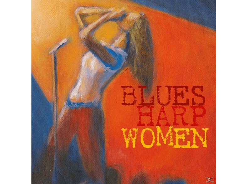 VARIOUS - Blues Harp Woman [CD]