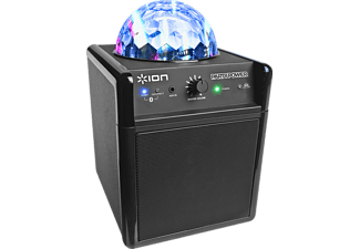 ION Party Power Bluetooth Lautsprecher mit LED Party-Beleuchtung