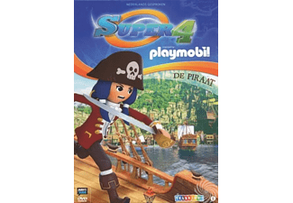 Playmobil - Super 4 De Piraat | DVD