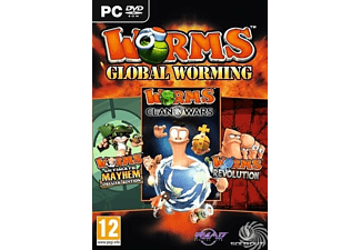 Worms - Global Worming Triple Pack | Pc