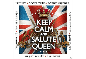 VARIOUS - Keep Calm & Salute The Queen - (CD)