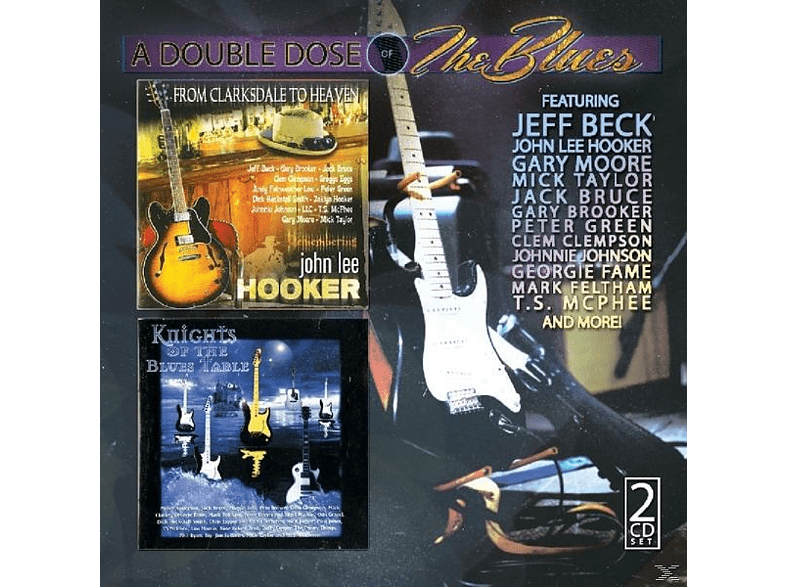 VARIOUS - Double Dose Of Blues [CD]