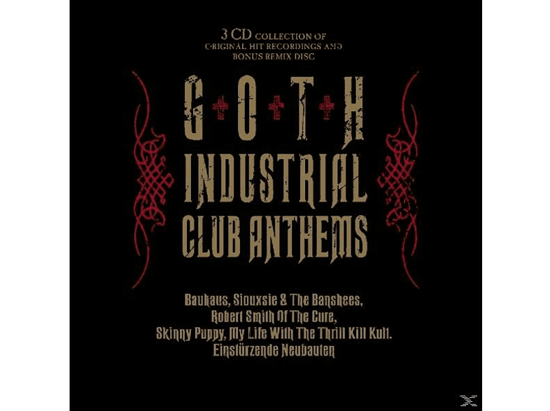 VARIOUS - Goth Industrial Club Anthems [CD]