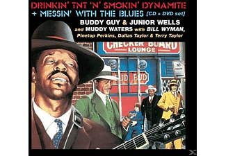 Guy, Buddy & Wells, Junior - Drinkin Tnt N Smokin Dynamite+Messin With The Bl - (CD + DVD Video)