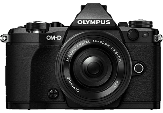 OLYMPUS E-M5 Mark II Pancake Kit EZ-M 14-42mm EZ Black - (V207044BE000)