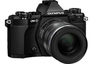 OLYMPUS E‑M5 Mark II Kit EZ-M 12-50mm Black - (V207042BE000)