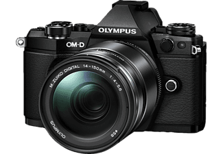 OLYMPUS E‑M5 Mark II Kit EZ-M 14-150mm II Black - (V207043BE000)
