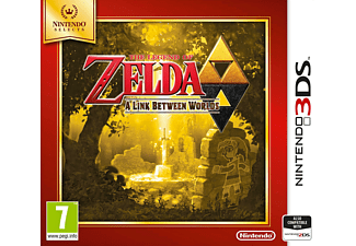 3DS The Legend of Zelda: A Link Between Worlds - Selects