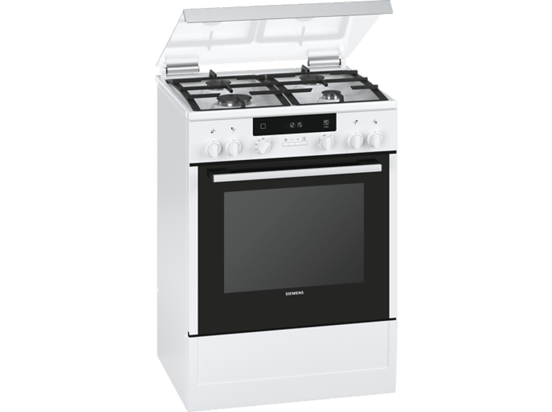 Siemens iQ300 HX745225 electric cooker with gas hob