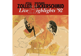 Lackerschmid, Wolfgang / Zoller, Attila - Live Highlights  92 [Vinyl]