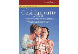 VARIOUS, Orchestra Of The Age Of Enlightenment, The Glyndenbourne Chorus - Cosi Fan Tutte - (DVD)