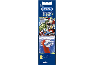 ORAL-B Stages 2-Pack - Avengers Tandborsthuvuden