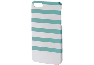 HAMA Coque Stripes iPhone 5/5s Menthe (138273)