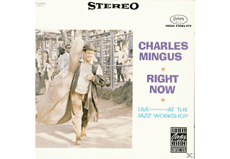 Charles Mingus, Art Mingus - Right Now: Live At The Jazz Workshop - (CD)