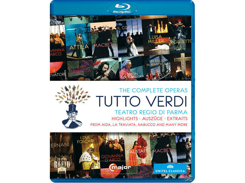 Diverse, VARIOUS - Tutto Verdi-Sampler [Blu-ray]
