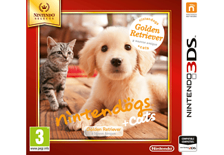 3DS Nintendogs + Cats: Golden Retriever