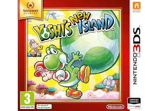 3DS Yoshi's New Island - Selects