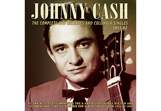 Johnny Cash - The Compl.Sun Releases And Columbia Singles '55-66 [CD]