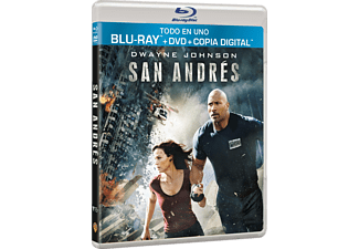 San Andrés - Bluray + Dvd + Copia Digital