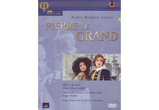 VARIOUS - Andre Modeste Gretry - Pierre le Grand - (DVD)