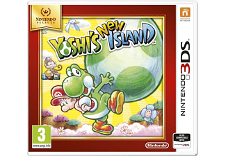 Select 3DS Yoshi's New Island NL