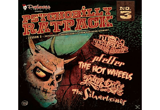 Various - Psychobilly Ratpack (Lesson 3) - (CD)