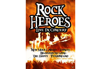 VARIOUS - Rock Heroes Live In Concert - (DVD)
