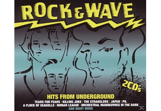 VARIOUS - Rock & Wave-Hits From Underground - (CD)